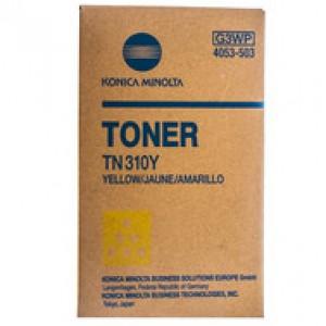 ТОНЕР-КАРТРИДЖ KONICA MINOLTA TN-310Y BIZHUB C350/C450 (4053503) YELLOW