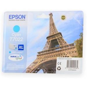 Картридж Epson WP 4000/4500 XL cyan 2k