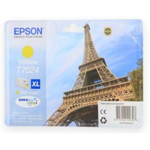 Картридж Epson WP 4000/4500 XL yellow 2k